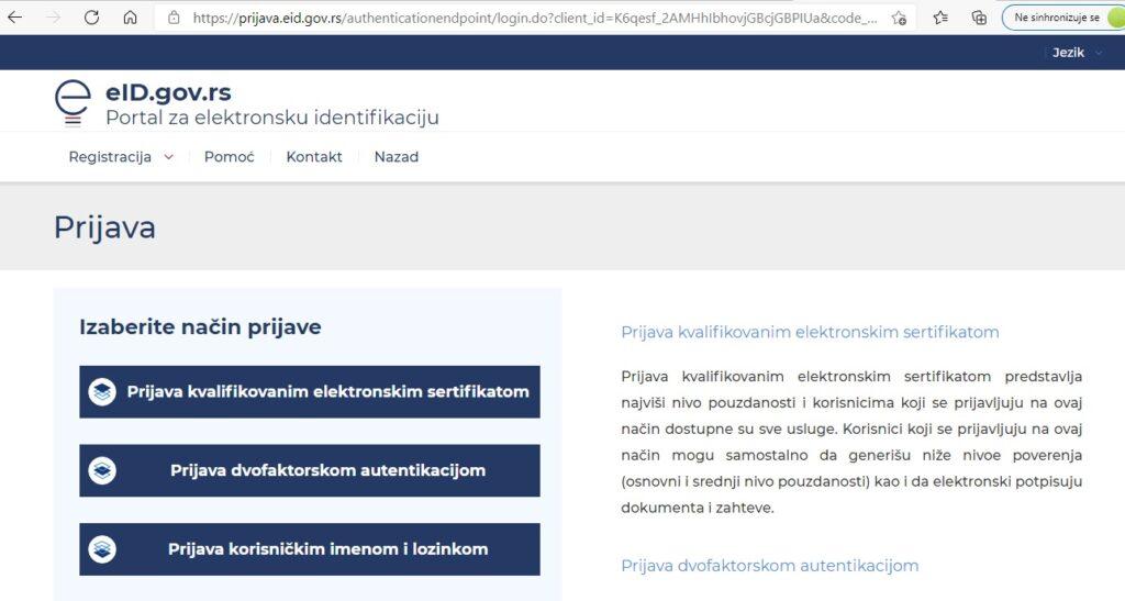 LPA prijava online
